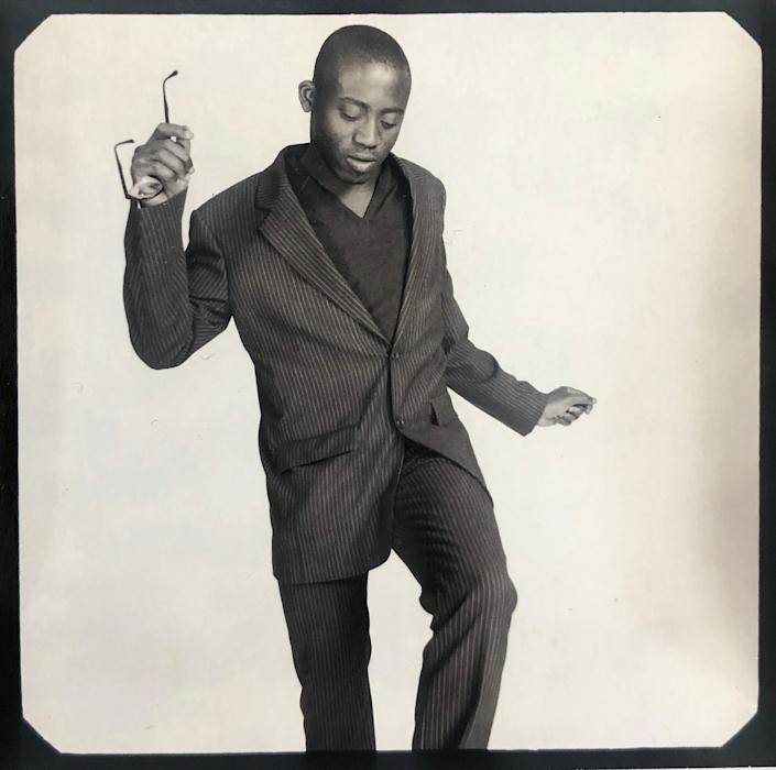 """A Polaroid of Enninful in the 1990s from his personal collection.<span class=""""copyright"""">Courtesy Edward Enninful</span>"""