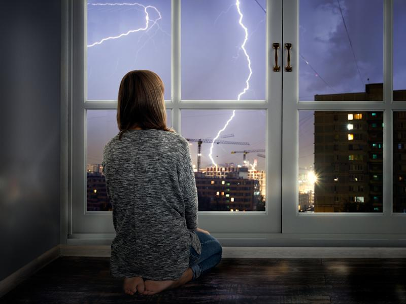Why do some people get headaches in a thunderstorm? [Photo: Getty]