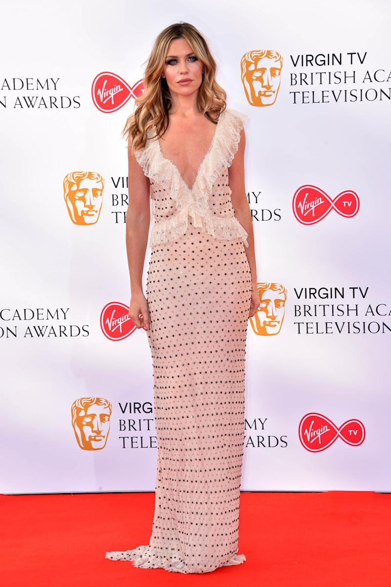 Abbey Clancy attending the Virgin TV British Academy Television Awards 2018 held at the Royal Festival Hall, Southbank Centre, London.