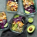 <p>A bold, smoky marinade elevates roasted cauliflower in this meal-prep version of our popular Chipotle-Lime Cauliflower Tacos (see Associated Recipes). To cut down on prep time, look for precut cauliflower in the produce department. You can also save time by using microwaveable quinoa pouches (you'll need one 8-ounce pouch for this recipe) instead of cooking quinoa.</p>