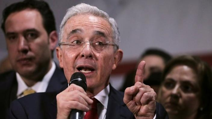Álvaro Uribe governed Colombia from 2002 until 2010