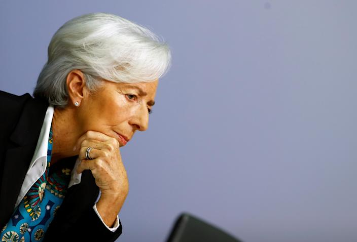 New European Central Bank (ECB) President Christine Lagarde. Photo: Ralph Orlowski/Reuters