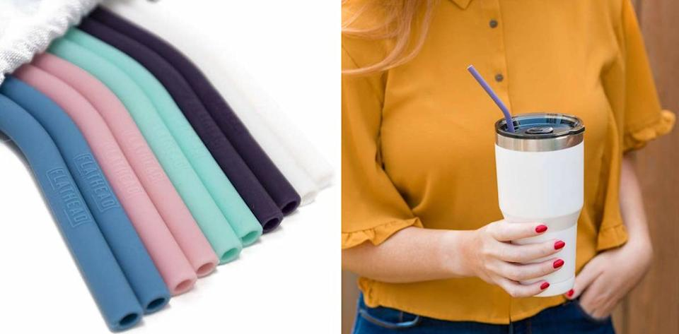 """These are perfect for your morning cup of iced coffee — some drinks just taste better coming out of a straw, don't you think?<br /><br /><strong>Promising review:</strong>""""These straws completely changed my life and I can't imagine living without them. You don't even understand how astounding these straws are!!! I LOVE THEM! Never could go without them !!!!"""" —<a href=""""https://www.amazon.com/dp/B07GSQ331L?tag=huffpost-bfsyndication-20&ascsubtag=5890048%2C34%2C36%2Cd%2C0%2C0%2C0%2C962%3A1%3B901%3A2%3B900%3A2%3B974%3A3%3B975%3A2%3B982%3A2%2C16493469%2C0"""" target=""""_blank"""" rel=""""noopener noreferrer"""">Amazon Customer<br /></a><br /><strong>Get a pack of 10 from Amazon for<a href=""""https://www.amazon.com/dp/B07GSQ331L?tag=huffpost-bfsyndication-20&ascsubtag=5890048%2C34%2C36%2Cd%2C0%2C0%2C0%2C962%3A1%3B901%3A2%3B900%3A2%3B974%3A3%3B975%3A2%3B982%3A2%2C16493469%2C0"""" target=""""_blank"""" rel=""""noopener noreferrer"""">$10.95</a>.</strong>"""