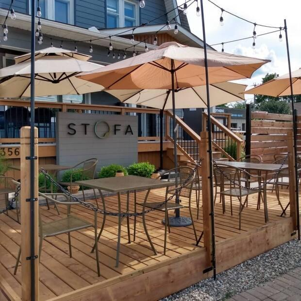 Stofa restaurant has a bigger patio in the summer, but decided to offer a more intimate experience outside after the latest lockdown.