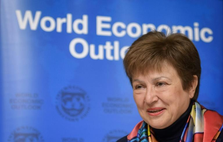 """IMF Managing Director Kristalina Georgieva warned low-income countries are facing economic shocks so profound they could create what she calls a """"lost generation"""""""
