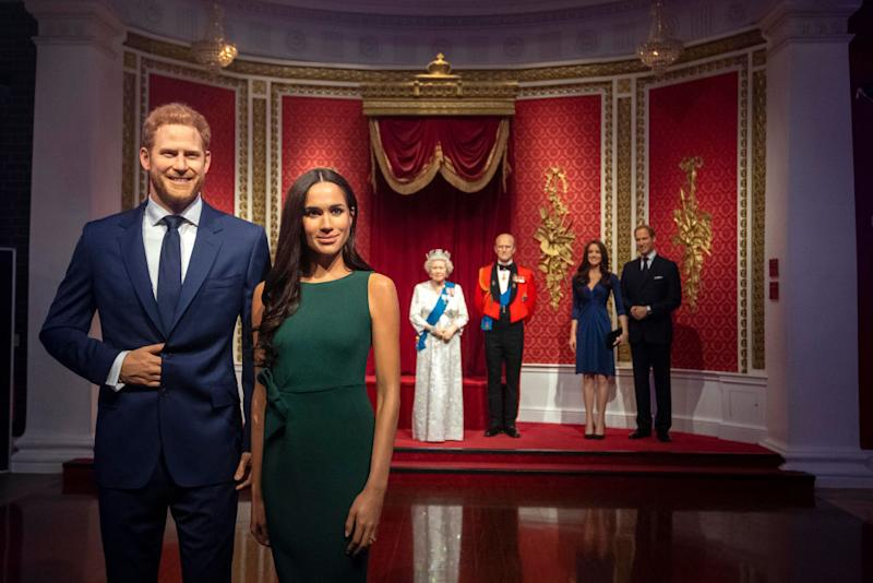 Madame Tussauds removes waxworks of Harry, Meghan from royal family display