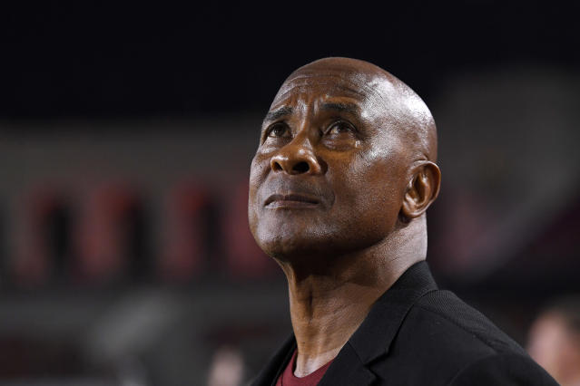 Lynn Swann resigned as the University of Southern California's athletic director on Monday. (AP Photo/Mark J. Terrill)