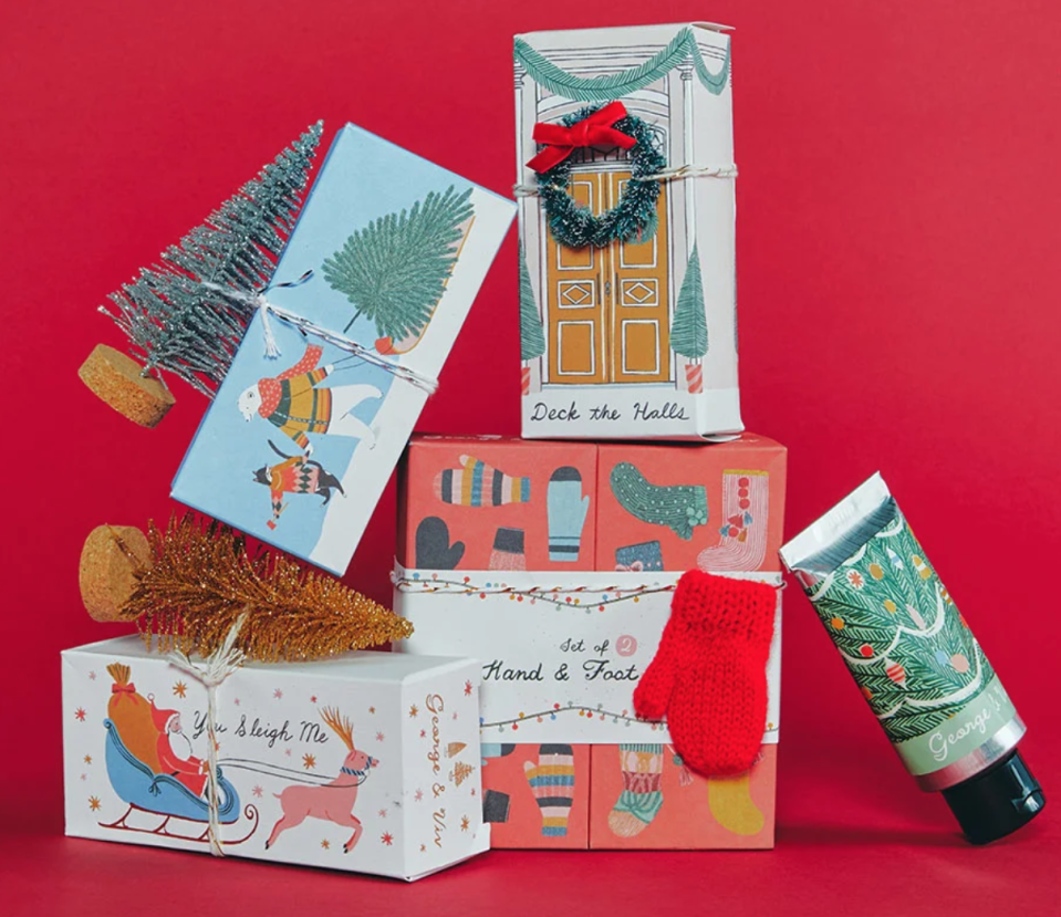 Anthropologie is your one-stop shop for holiday gifting. Image via Anthropologie.