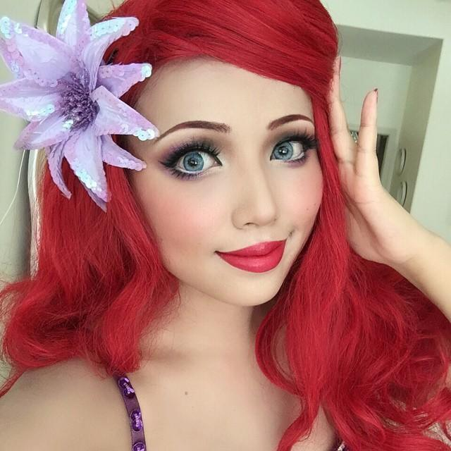 "<p>Dressing up as a <a href=""https://www.goodhousekeeping.com/beauty/g2560/disney-princess-voice-actresses/"" rel=""nofollow noopener"" target=""_blank"" data-ylk=""slk:Disney Princess"" class=""link rapid-noclick-resp"">Disney Princess</a> isn't just for the kids — adults can get in on <a href=""https://www.goodhousekeeping.com/beauty/makeup/a33397/the-little-mermaid-makeup-ariel/"" rel=""nofollow noopener"" target=""_blank"" data-ylk=""slk:these pretty costumes"" class=""link rapid-noclick-resp"">these pretty costumes</a>, too! If seashell bras aren't your thing, pair this simple makeup look with a sparkly purple top and green skirt.</p><p><a class=""link rapid-noclick-resp"" href=""https://go.redirectingat.com?id=74968X1525078&xs=1&url=https%3A%2F%2Fwww.sephora.com%2Fproduct%2Fthey-re-real-lengthening-volumizing-mascara-P289307"" rel=""nofollow noopener"" target=""_blank"" data-ylk=""slk:SHOP MASCARA"">SHOP MASCARA</a></p><p><a href=""https://www.instagram.com/p/3H-YiAzJuk/&hidecaption=true"" rel=""nofollow noopener"" target=""_blank"" data-ylk=""slk:See the original post on Instagram"" class=""link rapid-noclick-resp"">See the original post on Instagram</a></p>"