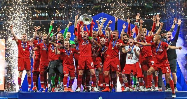 Liverpool became European champions for the sixth time in 2019.