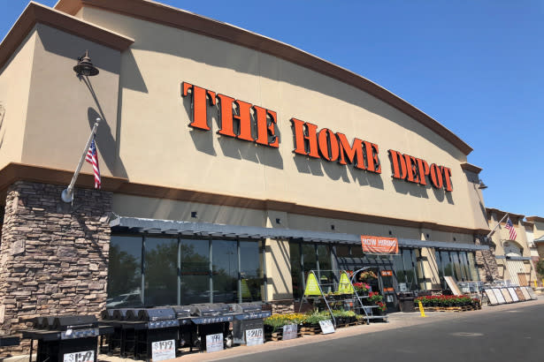 Home Depot Tanks On Earnings, Global Markets Rise, No End To Trade War In Sight