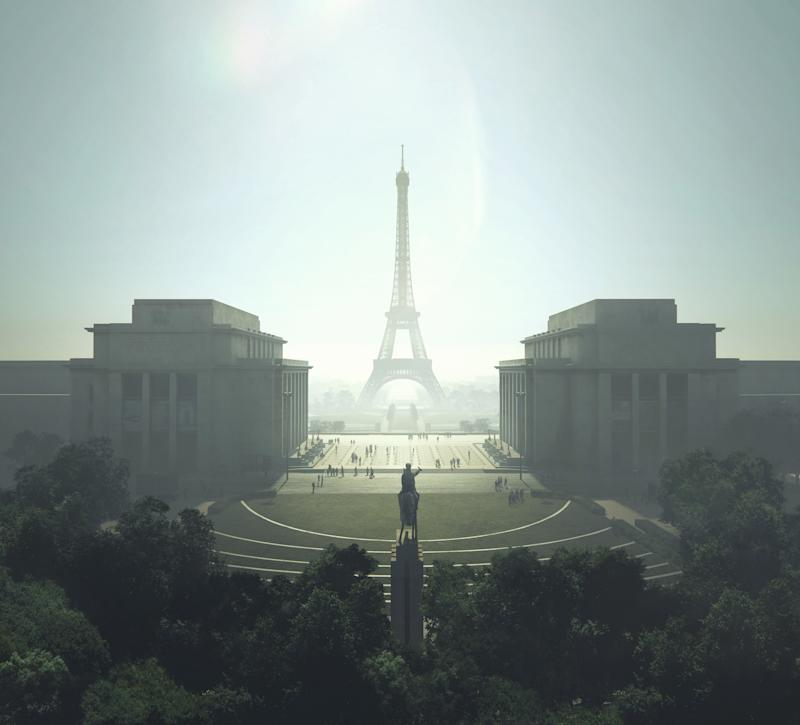 The new plan will transform the Place du Trocadéro into a green amphitheater to take in the stunning view of the Eiffel Tower.