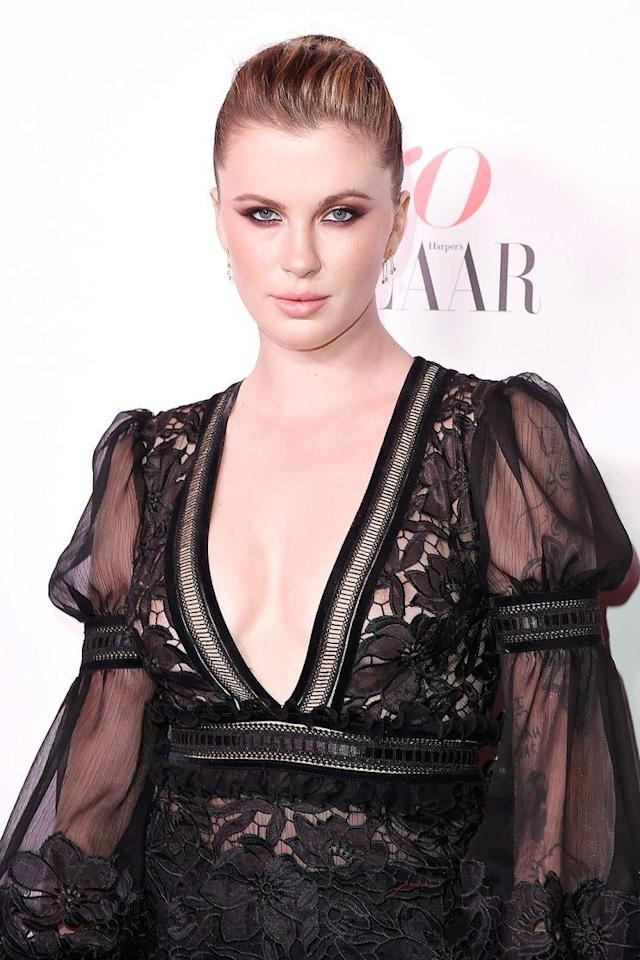 Ireland Baldwin loves her body. (Photo: David Crotty/Patrick McMullan via Getty Images)