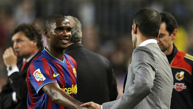 'I made Barca win under Pep, not Messi' - Eto'o takes swipe at former Camp Nou coach