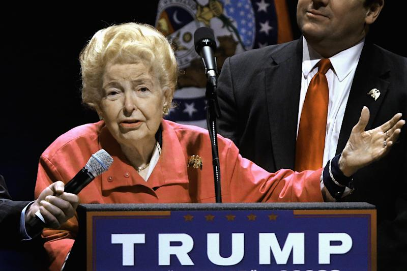 Phyllis Schlafly, conservative icon and foe of ERA, dies at 92
