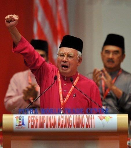 Malaysian Prime Minister Najib Razak, pictured here in December 2011, has until March 2013 to call general elections. Malaysian opposition leader Anwar Ibrahim late Tuesday launched a nationwide tour ahead of a verdict in his long-running sodomy trial, to declare his innocence and campaign for a change of government