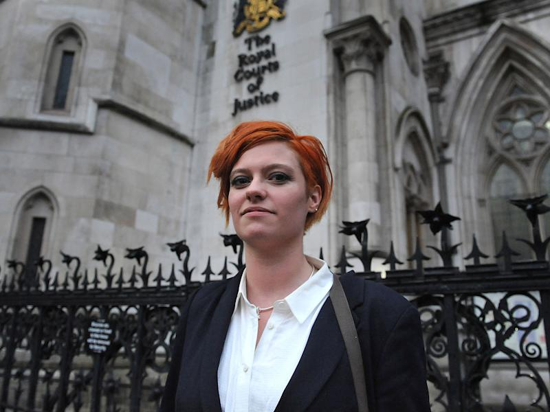 Monroe has won £24,000 in damages in a libel action against Katie Hopkins: PA