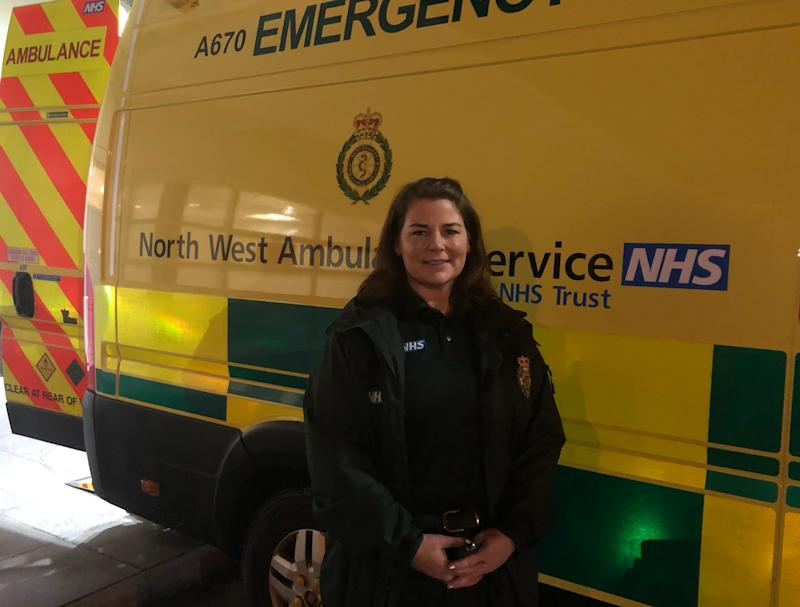 Emergency medical technician Caroline Lea (Photo: Aasma Day)