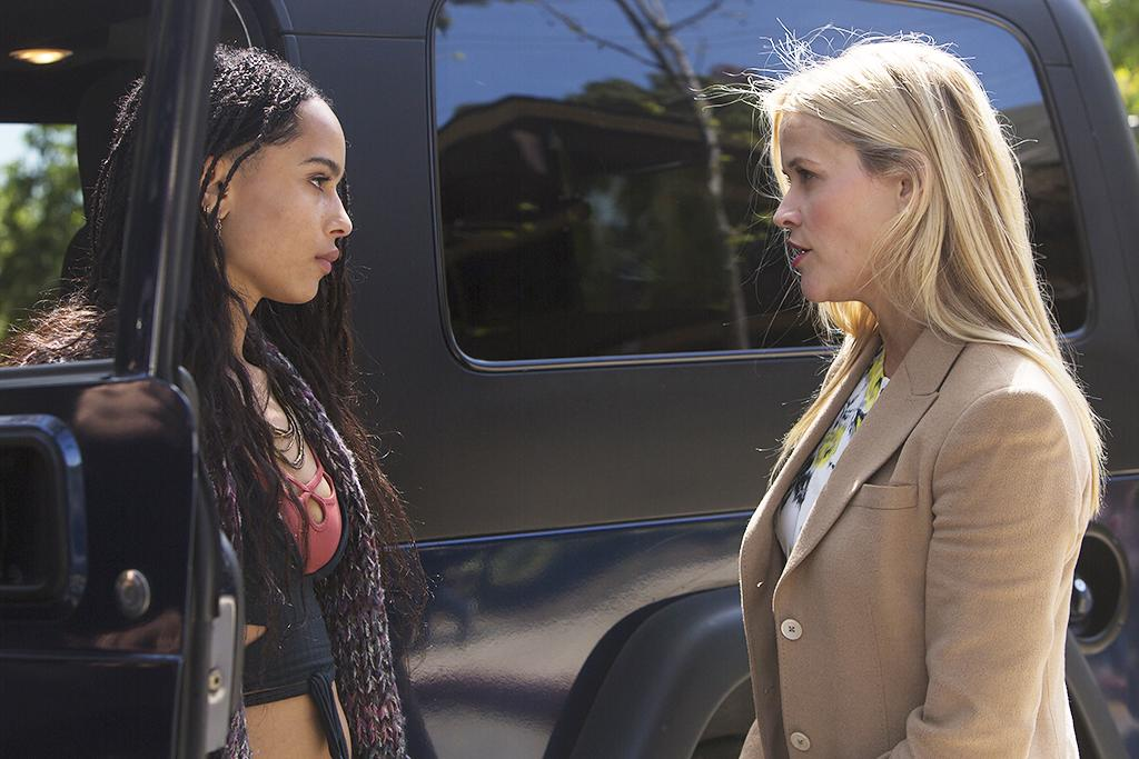 <p>Zoë Kravitz, Reese Witherspoon (Credit: HBO) </p>