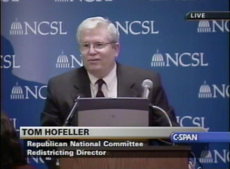 North Carolina Republicans are feuding over files belonging to Thomas Hofeller, a Republican redistricting expert who died in 2018. (Photo: CSPAN)