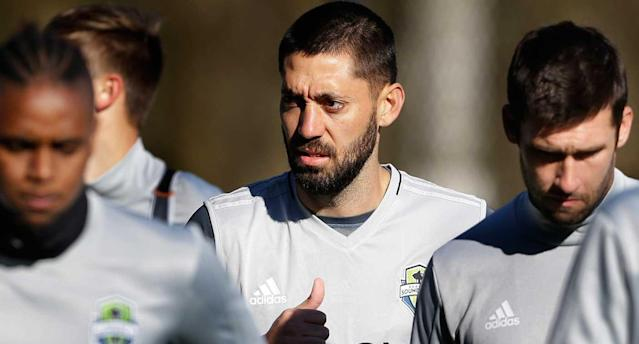 Dempsey says he's fit to play. (AP Photo)