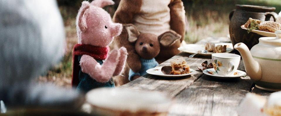 Piglet and Roo come to animated life in <em>Christopher Robin</em>, which secured a surprise nomination for Best Visual Effects. (Photo: Walt Disney Studios Motion Pictures /Courtesy Everett Collection)