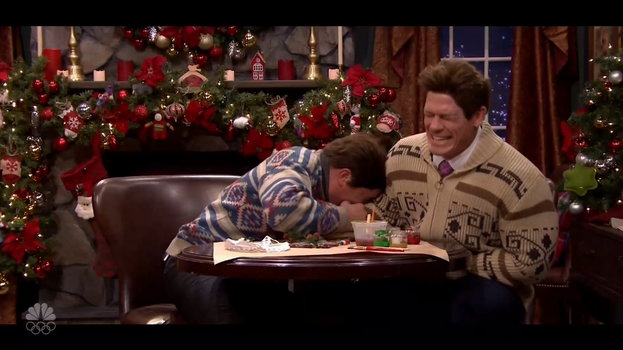 John Cena\'s twisted Christmas story will have you ROFL [Video]