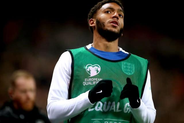 Joe Gomez was not involved in Kosovo due to a knee injury (Nick Potts/PA)