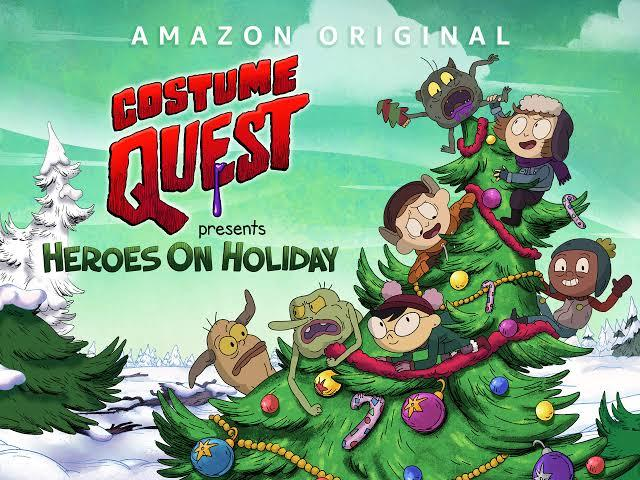 Costume Quest Christmas Special Amazon Prime key art