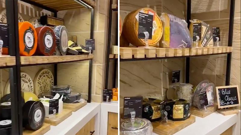 woolworths cheese room
