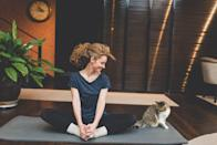 """<p><a href=""""http://www.instagram.com/curly_therapist/"""" class=""""link rapid-noclick-resp"""" rel=""""nofollow noopener"""" target=""""_blank"""" data-ylk=""""slk:Sana Powell"""">Sana Powell</a>, MA, LPC, told POPSUGAR that taking time to reflect on how we can be more open-minded is essential because """"past experiences, bias, and self-limiting beliefs can limit our growth."""" She added, """"Directly asking ourselves what we can be more accepting of can help us identify ways we can more fully receive what life offers us, whether it's a new perspective, opportunity, or relationship.""""</p> <p><strong>Action item:</strong> Do one thing outside of your comfort zone today. Here are some examples from Powell: show vulnerability to someone you care for, try something new without worrying about whether you're """"good"""" at it, or practice saying """"yes"""" to an opportunity that may foster your growth.</p>"""