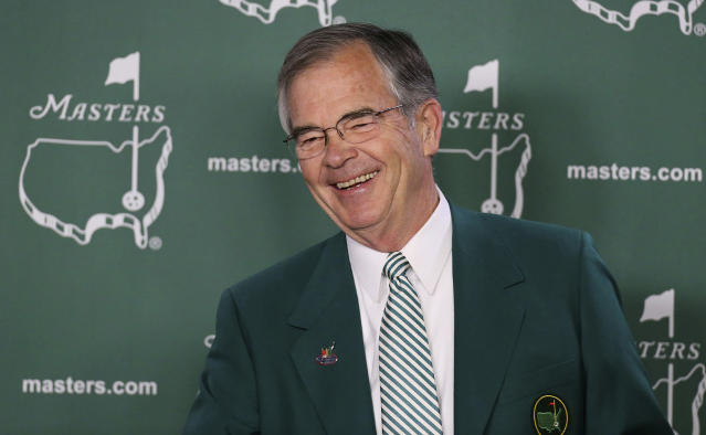 Billy Payne will be stepping down as chairman of Augusta National. (AP)