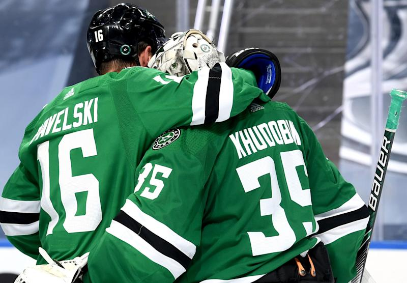 Stars take 3-1 series lead as Anton Khudobin steals another game