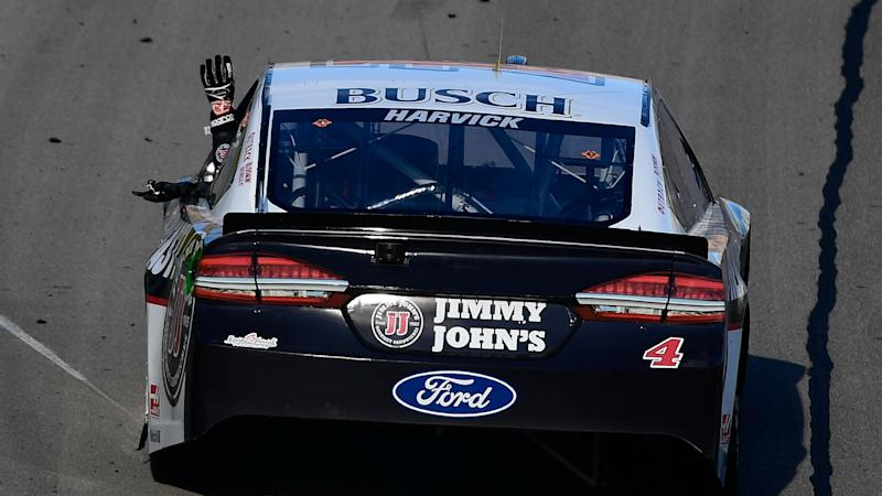Kevin Harvick shakes off NASCAR penalty: 'It just motivates us'