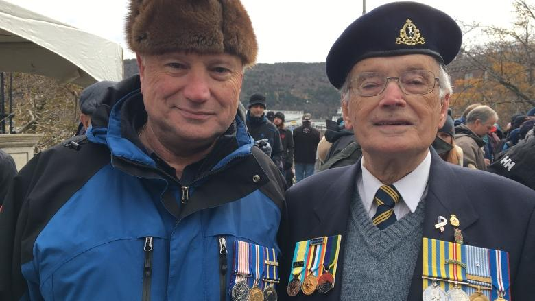 Veterans reflect on past, current climate on Remembrance Day in St. John's