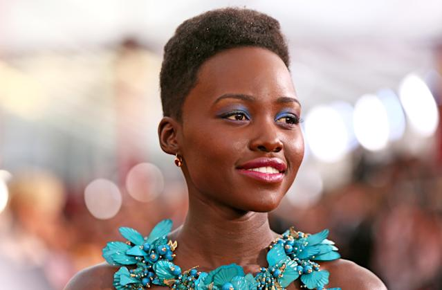 "Lupita Nyong'o criticized <em>Grazia</em> magazine for editing out her ""native heritage."" (Photo: Getty Images)"