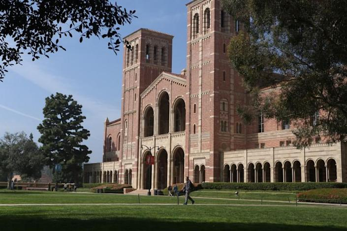 "California's three public university systems are fighting federal immigration orders that could force international students at UCLA, above, and other campuses to leave the country. <span class=""copyright"">(Glenn Koenig/Los Angeles Times)</span>"