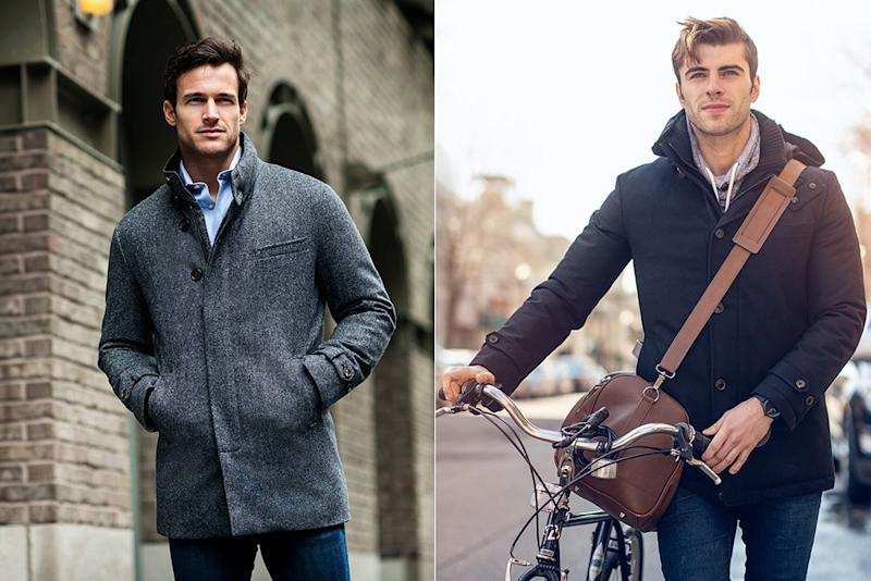 Norwegian Wool's coats blend the warmth of down in the packaging of a traditional topcoat.