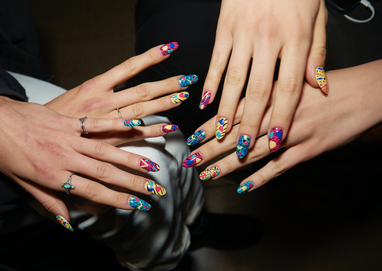 <p>The spring 2020 runways served up major manicure inspo—from wild '80s prints to a fresh take on the French manicure. Ahead, the coolest nail art looks to inspire your next salon appointment, plus the nail polishes you need to get the same exact look.</p>