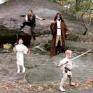 """<p>""""A long time ago in a Halloween far, far away…,"""" the <i>Gone Girl</i> actor captioned a snapshot of his family, including husband David Burtka and now 7-year-old twins Harper and Gideon, <a rel=""""nofollow noopener"""" href=""""https://www.instagram.com/p/9hCAiUSTnn/?taken-by=nph"""" target=""""_blank"""" data-ylk=""""slk:dressed as the Star Wars gang"""" class=""""link rapid-noclick-resp"""">dressed as the <i>Star Wars</i> gang</a> in 2015. (Photo: Neil Patrick Harris via Instagram) </p>"""