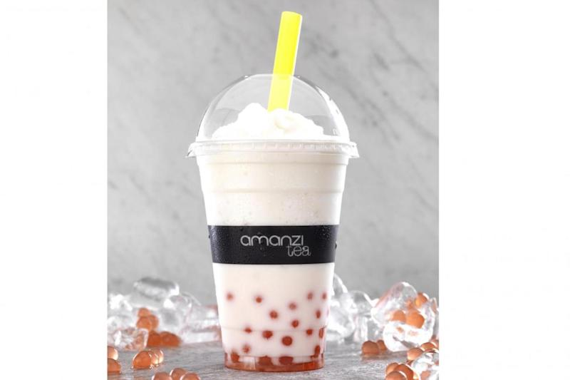 Coconut bubble tea (Amanzi)