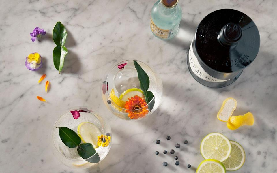 <p>If you're watching your weight, listen up. A shot of gin only has 97 calories making it one of healthiest alcohols on the market. Adding tonic adds more calories though so avoid if possible.<br><i>[Photo: Getty]</i> </p>