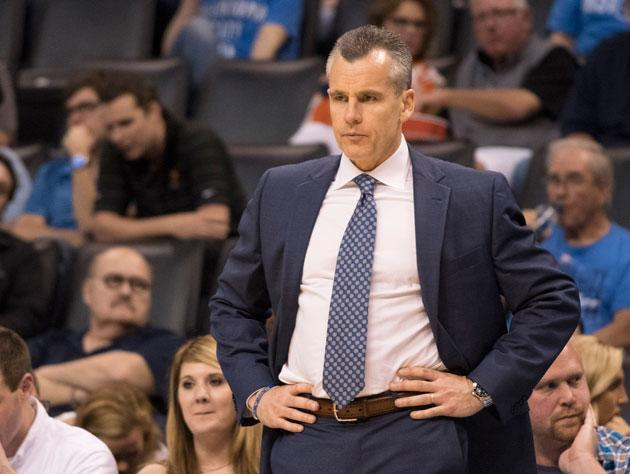 Billy Donovan is down 0-1. (Getty Images)