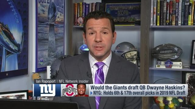NFL Network Insider Ian Rapoport reports the latest on what he is hearing about the New York Giants' plans with the No. 6 pick in the 2019 NFL Draft.