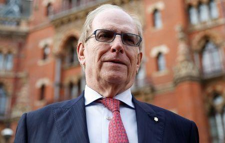 Lawyer Richard McLaren poses for a portrait after delivering a report for the World Anti-Doping Agency (WADA), in London