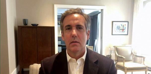 PHOTO: President Donald Trump's former attorney Michael Cohen discusses his new book 'Disloyal' during his appearance on 'The View' Monday, Sep. 14, 2020. (ABC News)