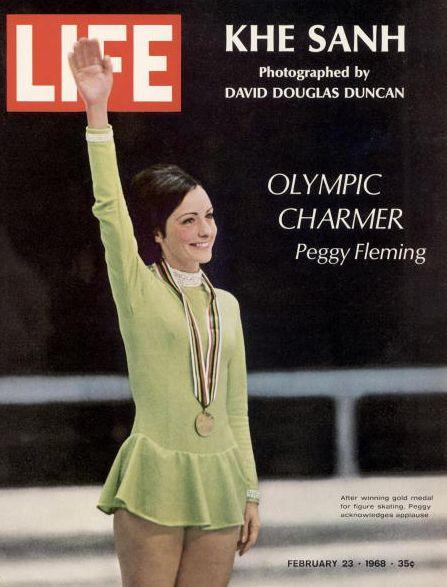 Fleming was a three-time World Champ and took the gold in the 1968 Olympics in Grenoble, France -- the only gold the U.S. won in the games that year. Fleming was arguably the U.S.' first bonafide skating celeb to emerge from figure skating in the U.S.