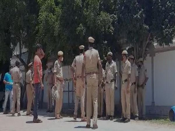 Police house arrests BJP leaders and workers in East Godavari district. (Photo/ANI)