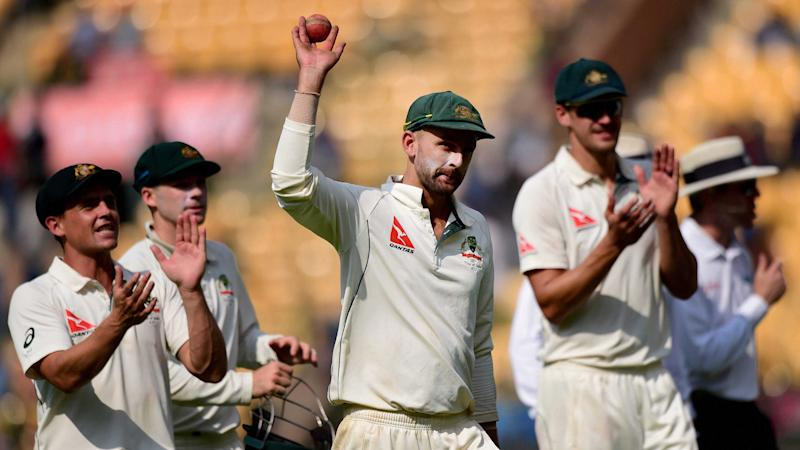 'Pressure's Right on India,' Says Nathan Lyon Ahead of Ranchi Test
