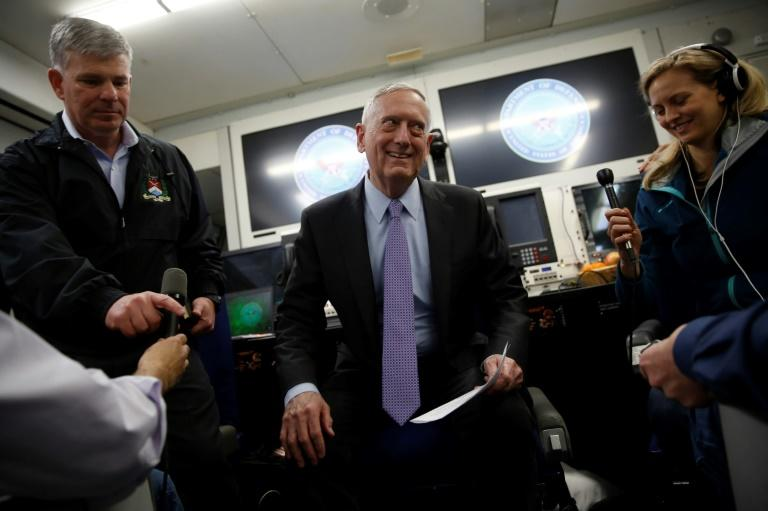"US Defense Secretary Jim Mattis said Washington is ""working so closely"" with China towards the aim of denuclearizing the Korean peninsula"
